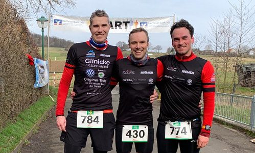 Gerrit, Thorsten und Marco beenden Winterlaufserie erfolgreich