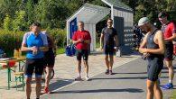 6 Teilnehmer beim Trainingsduathlon im September